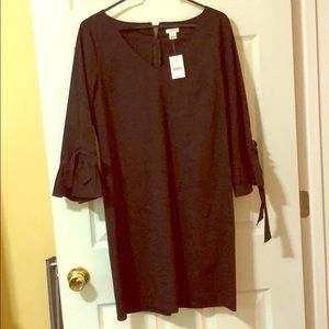 NWT J.Crew black dress, size 10